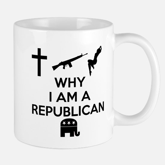 Why I am a Republican Mug