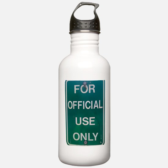 For Official Use Only Water Bottle