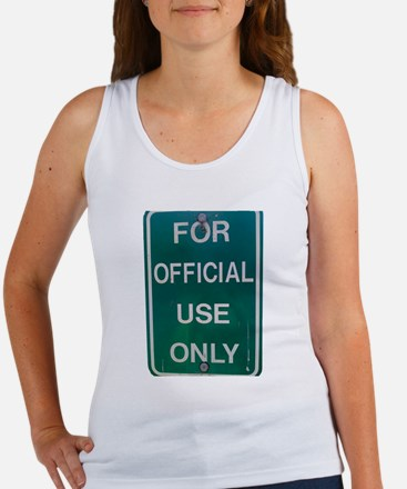 For Official Use Only Tank Top