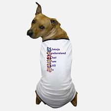 Autism Acrostic Poem Dog T-Shirt
