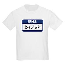 Hello: Beulah Kids T-Shirt