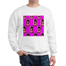 Magical Brunette pink Sweatshirt