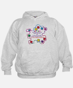 Puzzle Pieces No Two Alike Hoodie