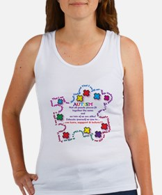 Puzzle Pieces No Two Alike Tank Top