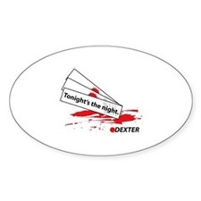 Tonight's The Night - Dexter Decal