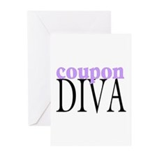 Coupon Diva Greeting Cards (Pk of 10)