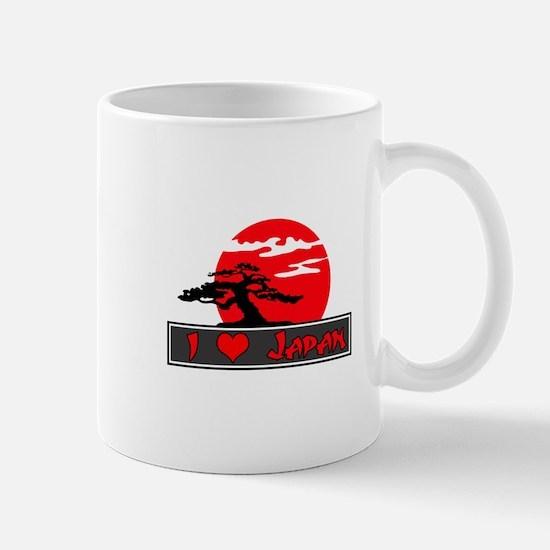 I Heart (Love) Japan Mug