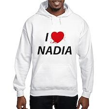 I Love Nadia - Dexter Hoodie Sweatshirt