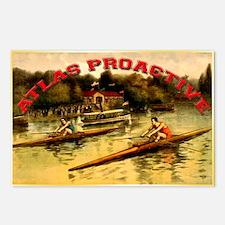 Atlas Boat Race Postcards (Package of 8)