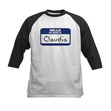 Hello: Claudia Tee
