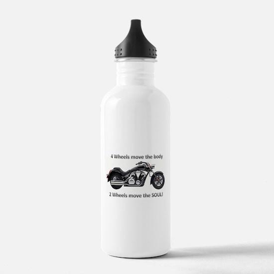 Biker Quote Water Bottle