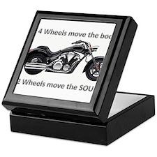 Biker Quote Keepsake Box