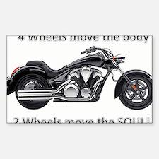 Biker Quote Decal