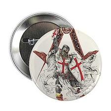 "Knights Templar 2.25"" Button"