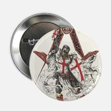 "Knights Templar 2.25"" Button"