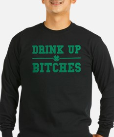 Vintage Drink Up Bitches T