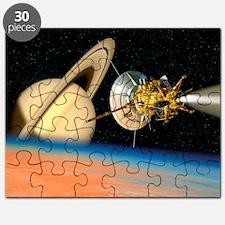 Puzzle - Computer artwork of Cassini spacecraft
