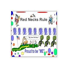 Red Necks Rule Sticker