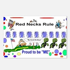 Red Necks Rule Postcards (Package of 8)