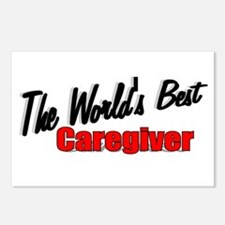 """The World's Best Caregiver"" Postcards (Package of"
