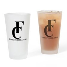 Forrester Creations Logo 01.png Drinking Glass