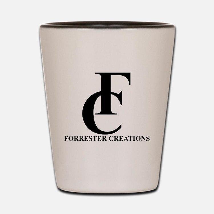 Forrester Creations Logo 01.png Shot Glass