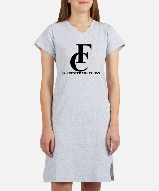 Forrester Creations Logo 01.png Women's Nightshirt