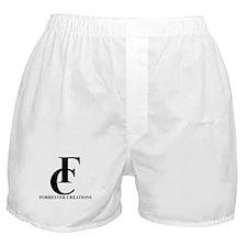Forrester Creations Logo 01.png Boxer Shorts