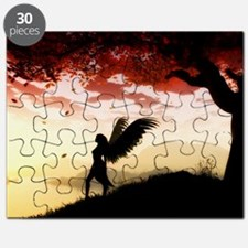 Angel at Dawn Puzzle