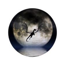 """Dragon Moon 3.5"""" Button"""
