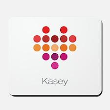I Heart Kasey Mousepad