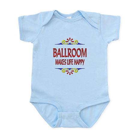 Ballroom Happy Life Infant Bodysuit