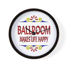 Ballroom Happy Life Wall Clock