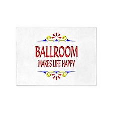 Ballroom Happy Life 5'x7'Area Rug