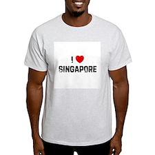 I * Singapore Ash Grey T-Shirt