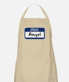 Hello: Angel BBQ Apron