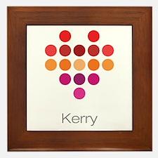 I Heart Kerry Framed Tile