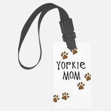 yorkie mom.png Luggage Tag