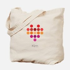 I Heart Kim Tote Bag