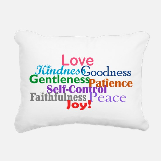 Fruit of the Spirit Rectangular Canvas Pillow