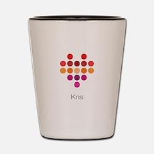 I Heart Kris Shot Glass