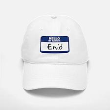 Hello: Enid Baseball Baseball Cap