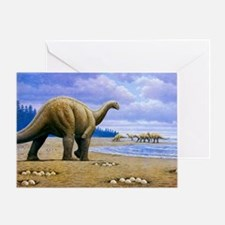 Greeting Card - Titanosaur