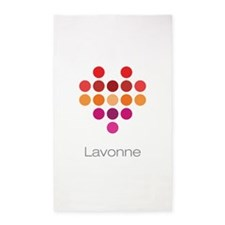 I Heart Lavonne 3'x5' Area Rug