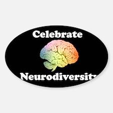 Celebrate Neurodiversity Bumper Decal