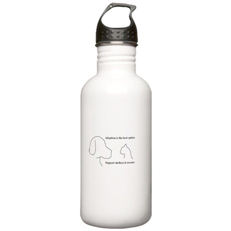 Adoption is the best option Stainless Water Bottle
