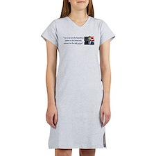 John F Kennedy Women's Nightshirt