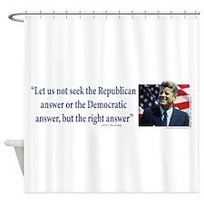 John F Kennedy Shower Curtain