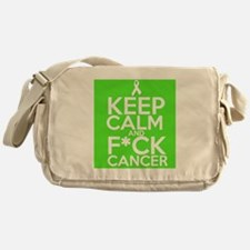 Keep Calm Fuck NonHodgkins Messenger Bag