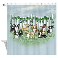 So Many Chihuahuas Shower Curtain